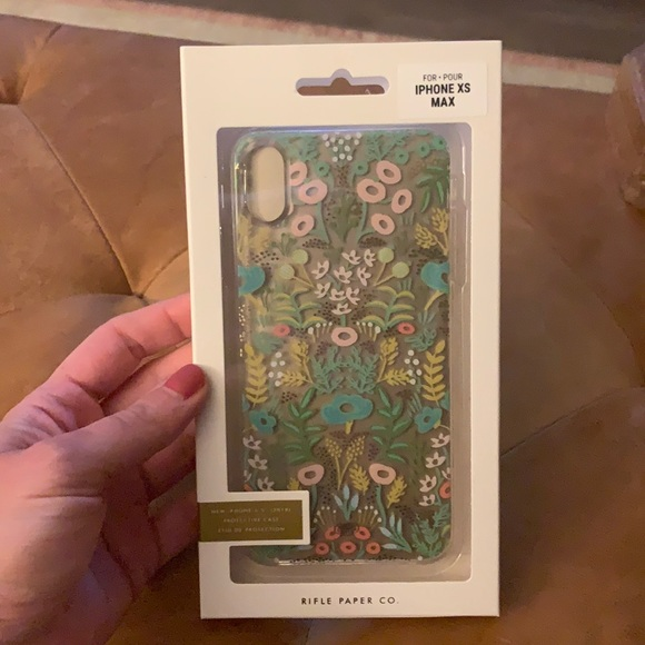 Rifle Paper Case for iPhone XS Max